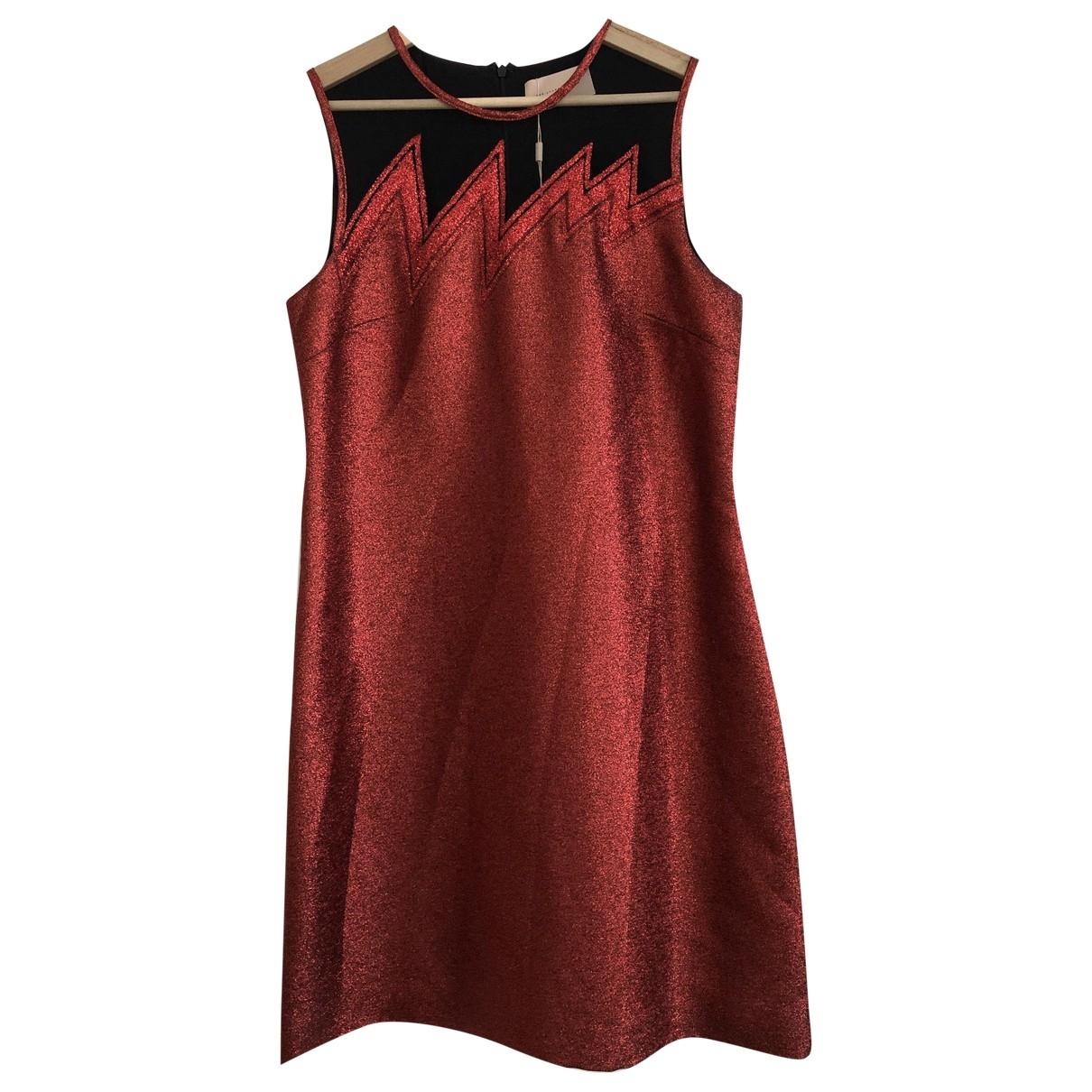 Christopher Kane \N Kleid in  Rot Mit Pailletten