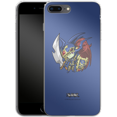 Apple iPhone 8 Plus Silikon Handyhuelle - Black Luster Soldier SD von Yu-Gi-Oh!