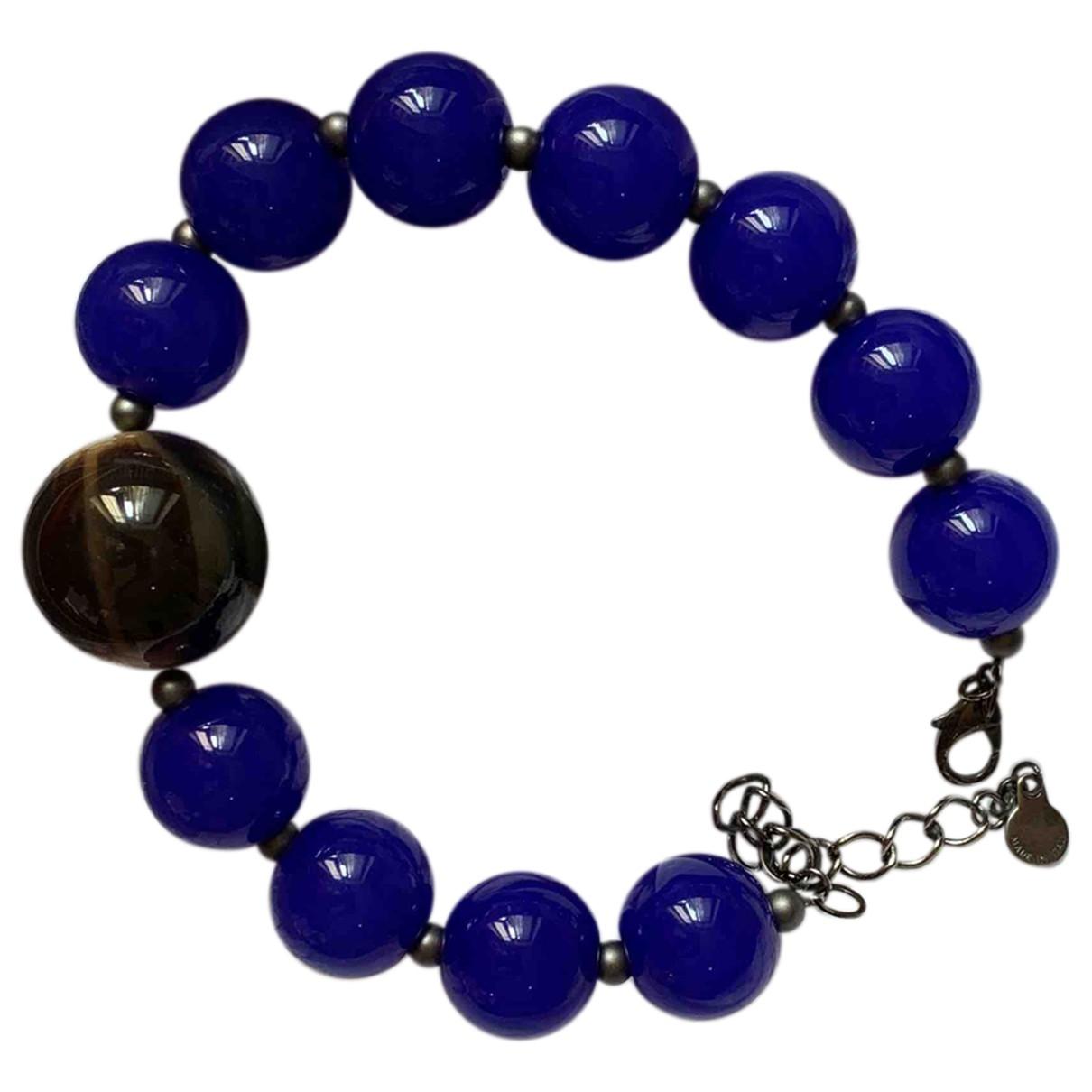 Armani Collezioni \N Blue Metal necklace for Women \N
