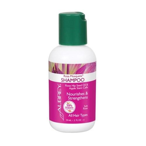 Rosa Mosqueta Shampoo Rose 2 Oz by Aubrey Organics