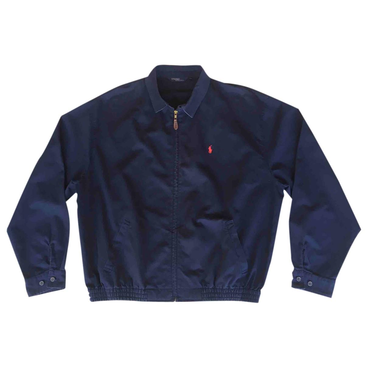Polo Ralph Lauren - Vestes.Blousons   pour homme en coton - bleu