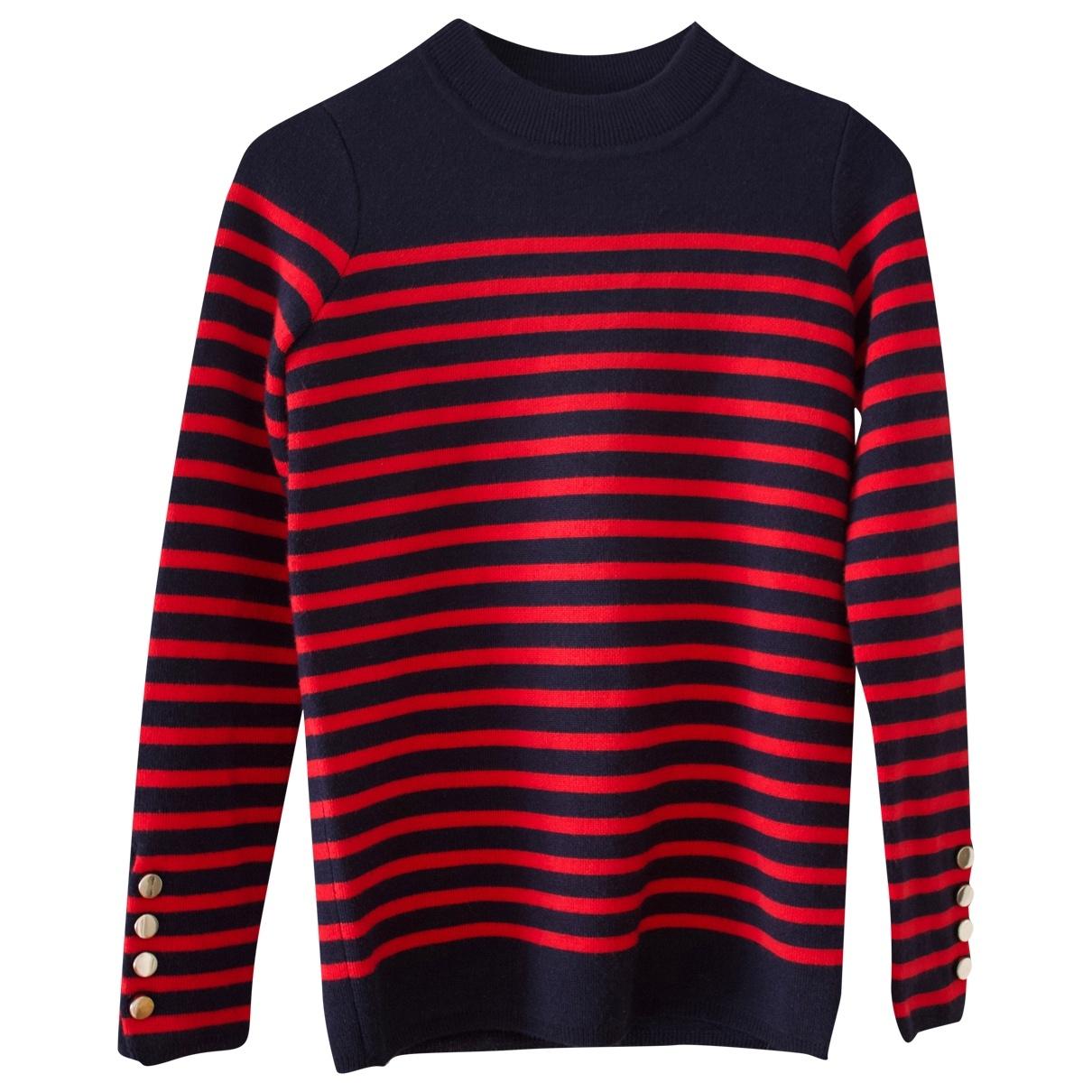 Sandro \N Pullover in  Blau Wolle