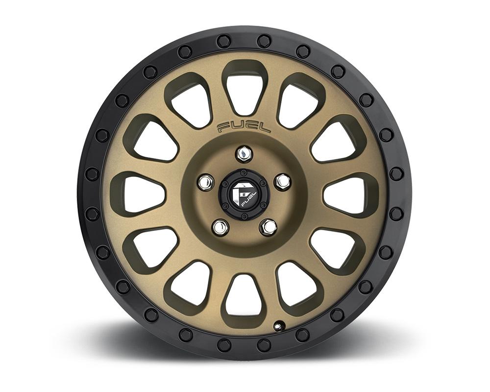Fuel D600 Vector Bronze 1-Piece Cast Wheel 18x9 5x150 20mm