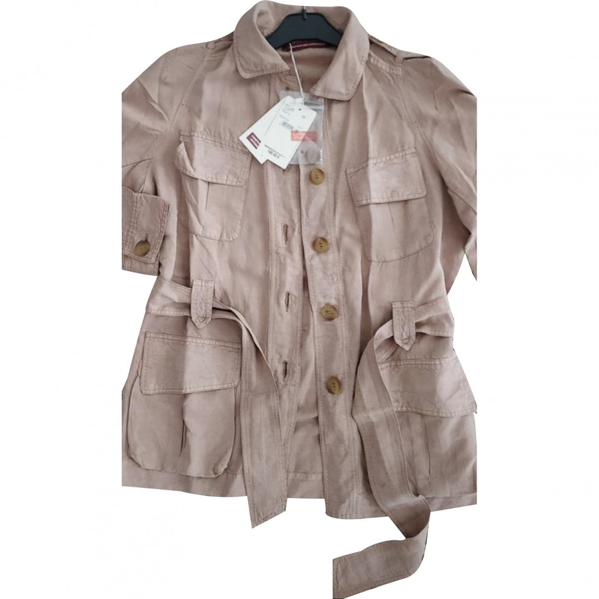 Comptoir Des Cotonniers \N Beige Linen jacket for Women 38 FR