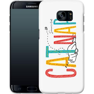 Samsung Galaxy S7 Edge Smartphone Huelle - Catnap von Simons Cat