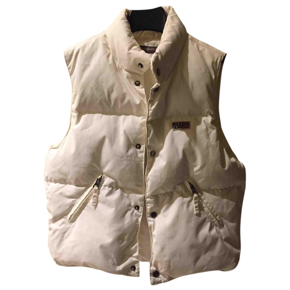 Napapijri - Blousons.Manteaux   pour enfant - blanc