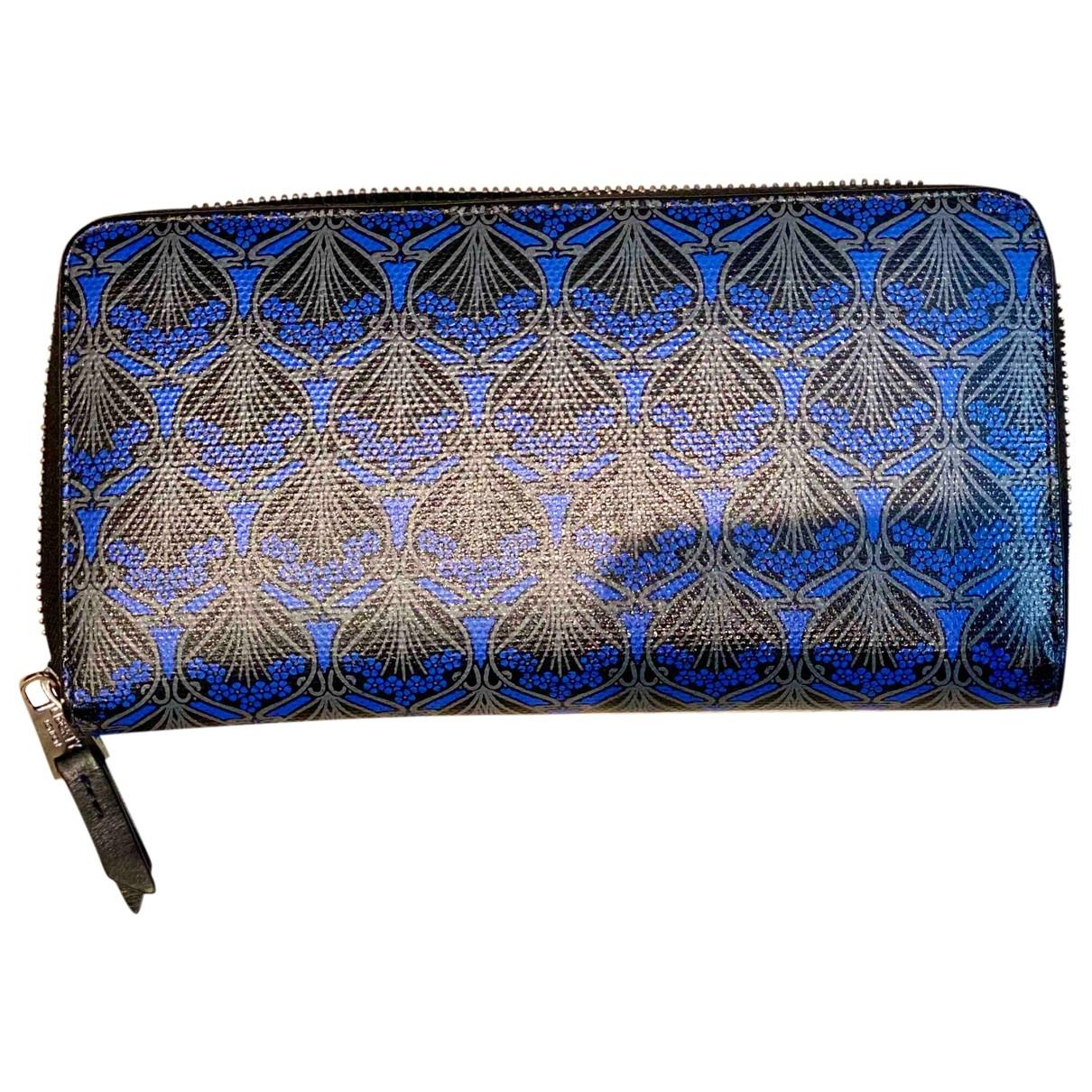 Liberty Of London - Portefeuille   pour femme en cuir - bleu