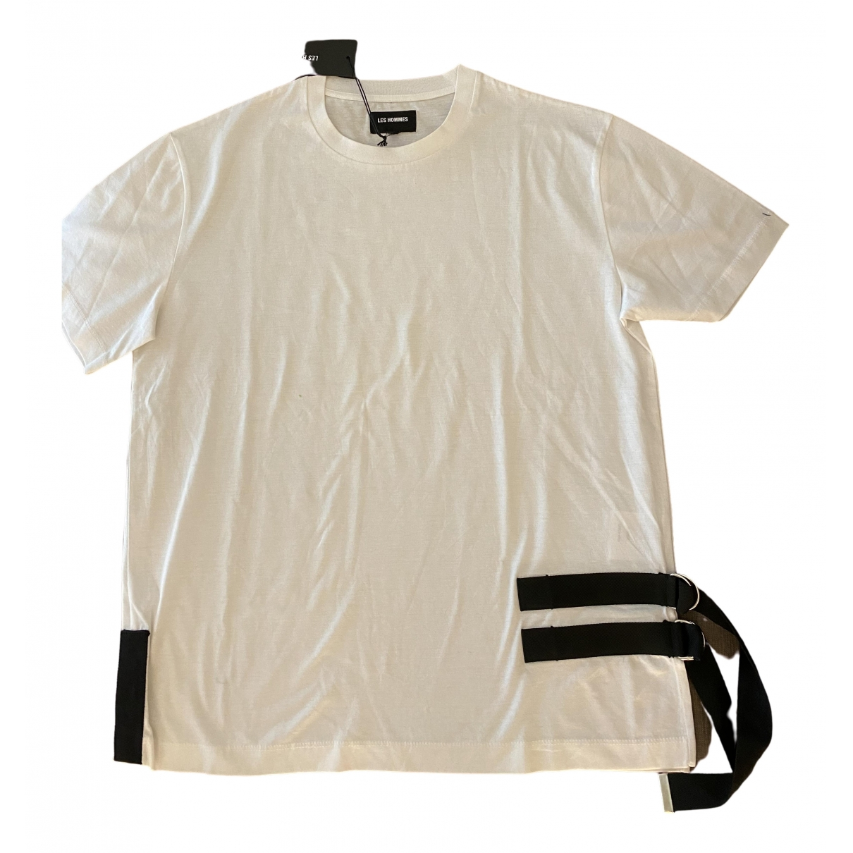 Les Hommes \N T-Shirts in  Weiss Baumwolle
