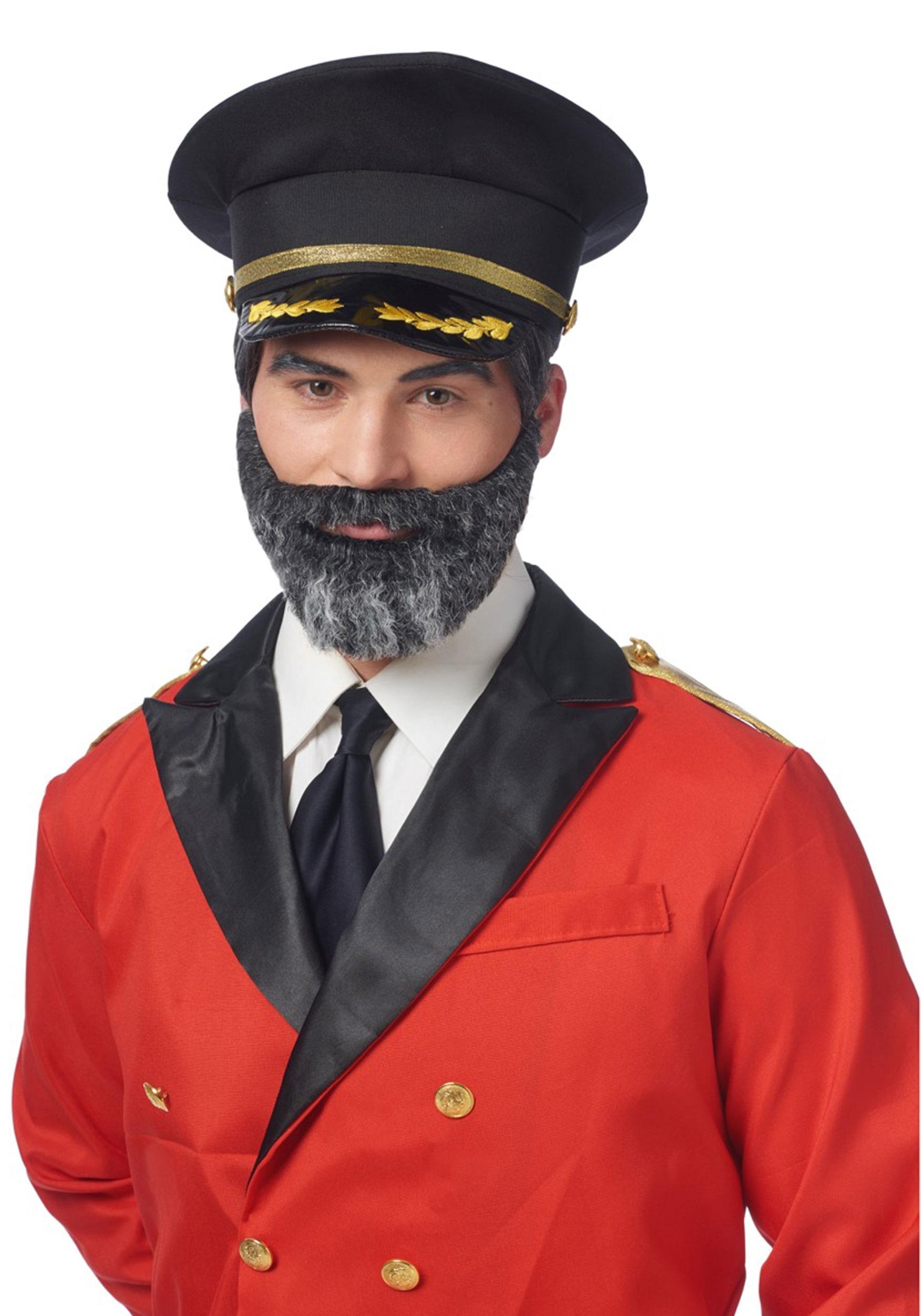Mustache & Beard Captain Obvious