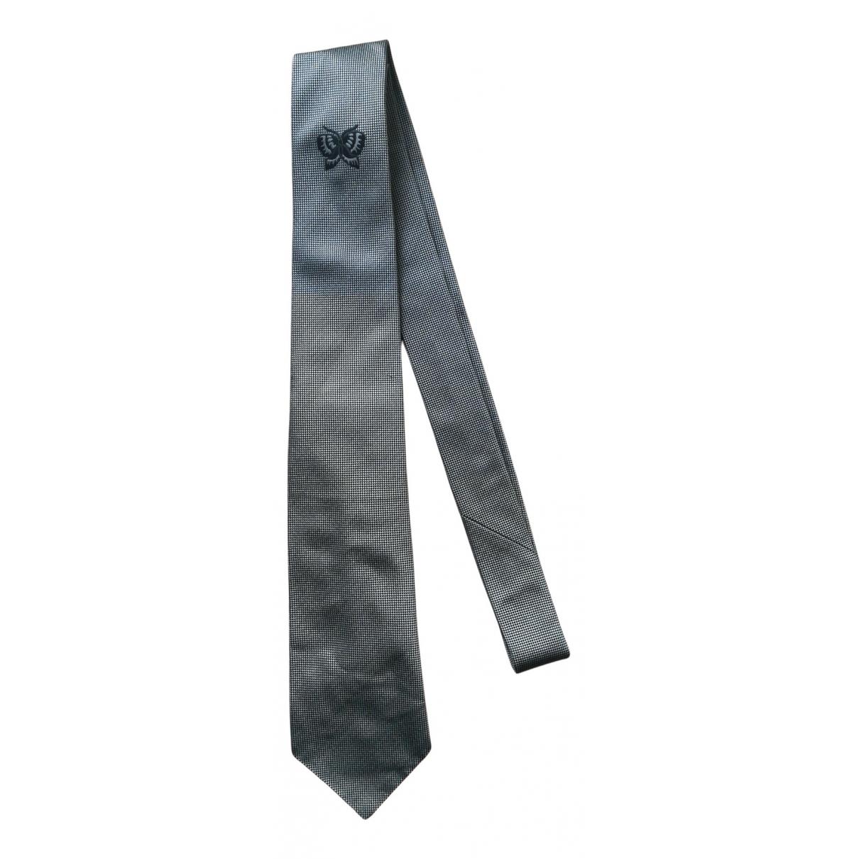 Bottega Veneta - Cravates   pour homme en soie - bleu