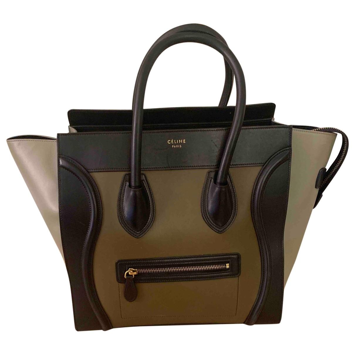 Celine Luggage Leather handbag for Women \N