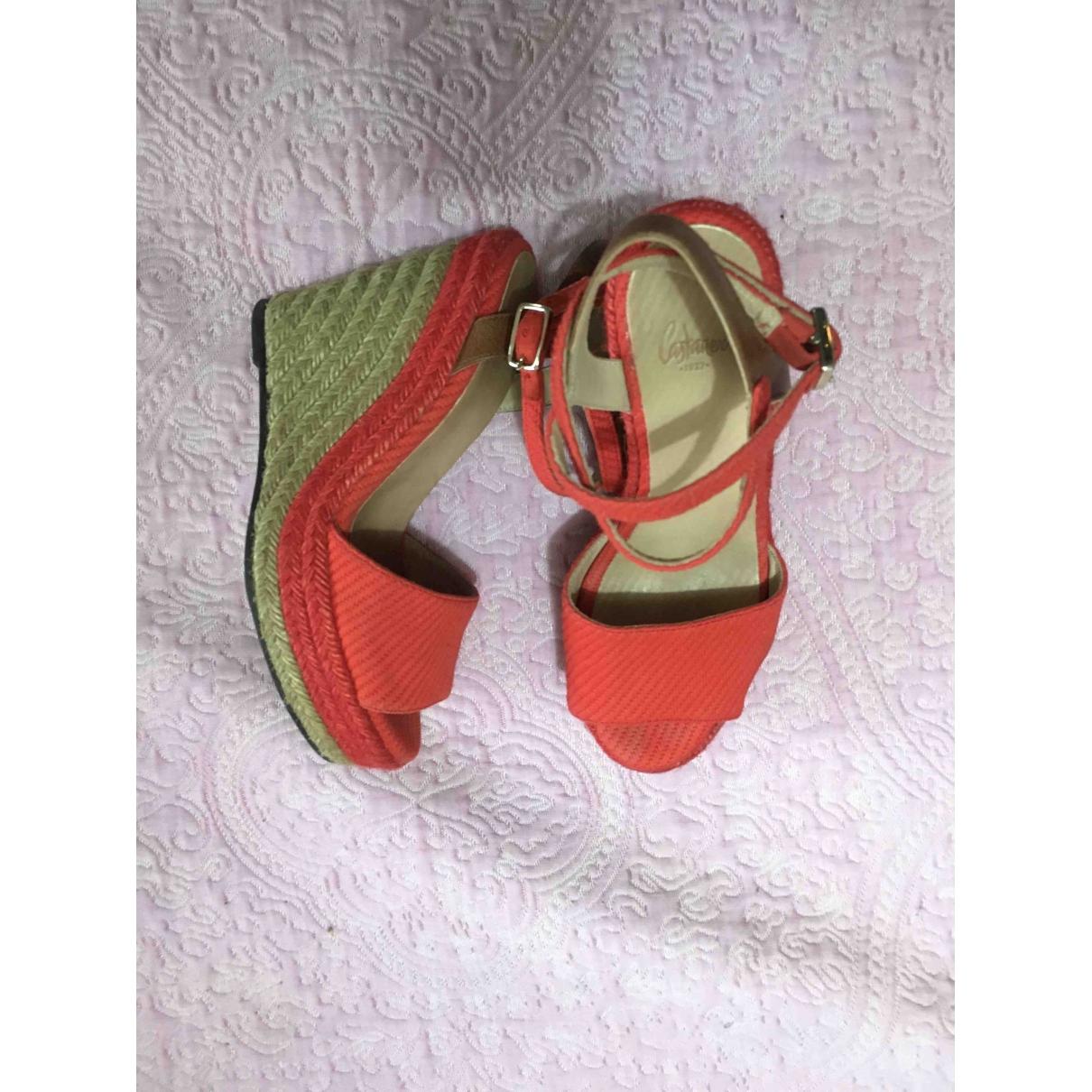 Sandalias romanas de Lona Castaner
