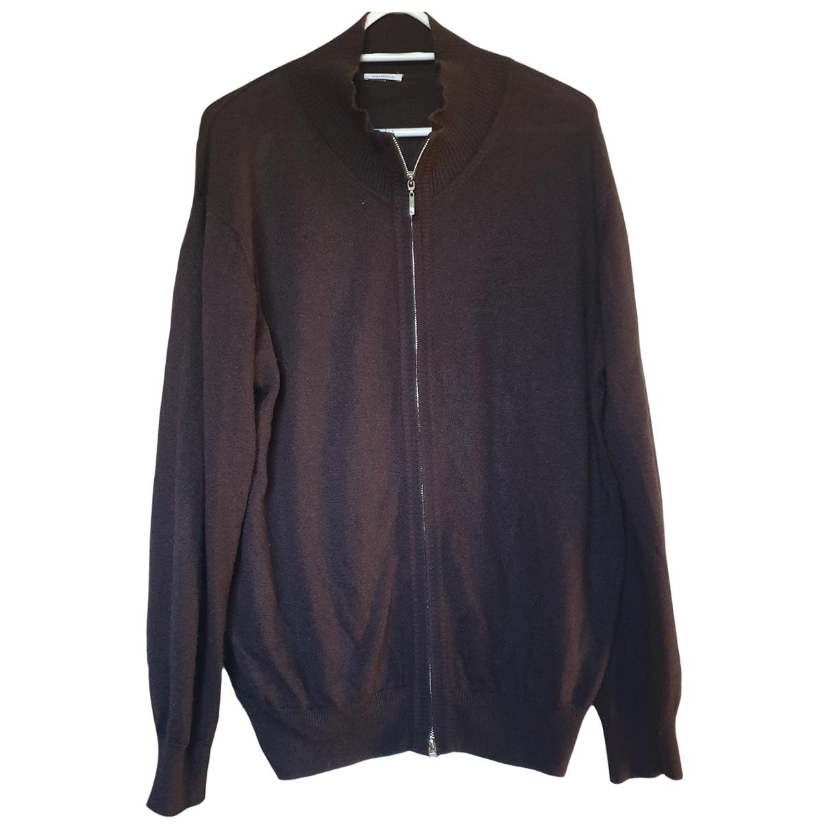 Cacharel \N Pullover.Westen.Sweatshirts  in  Braun Wolle