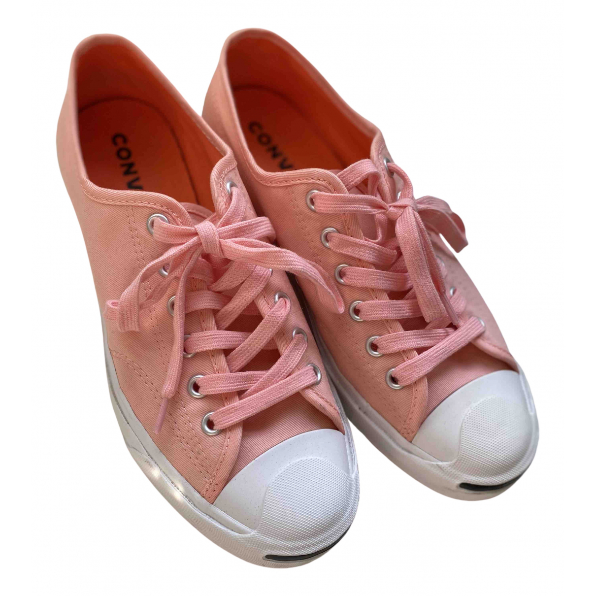 Converse - Baskets   pour femme en toile - rose