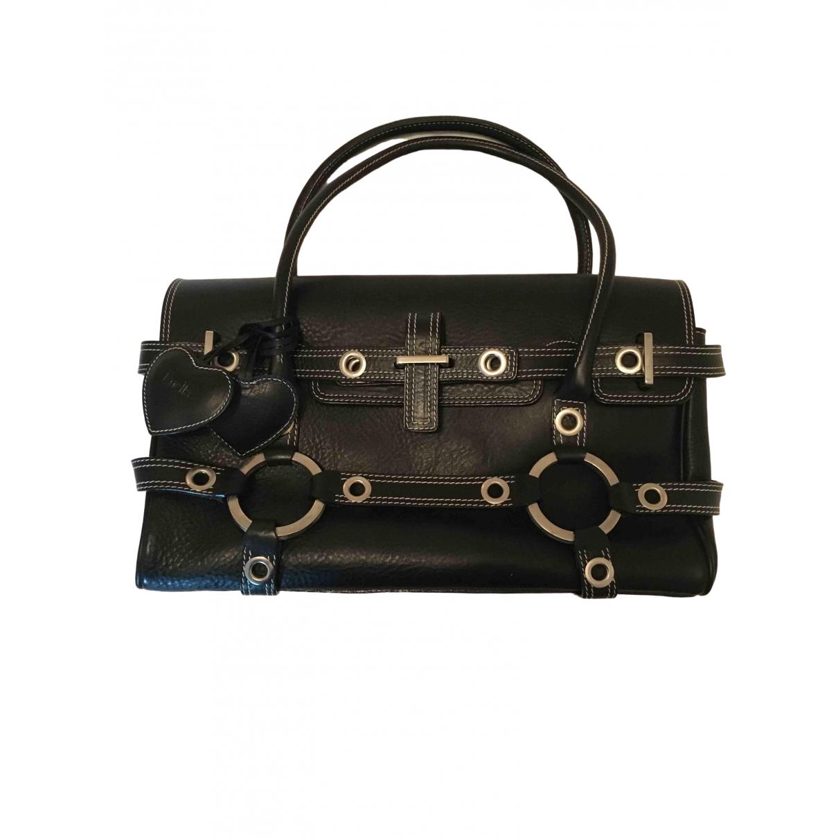 Luella \N Black Leather handbag for Women \N