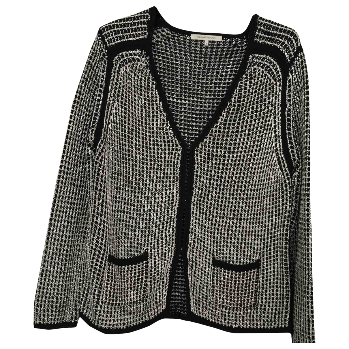 Gerard Darel \N Black Cotton Knitwear for Women 3 0-5