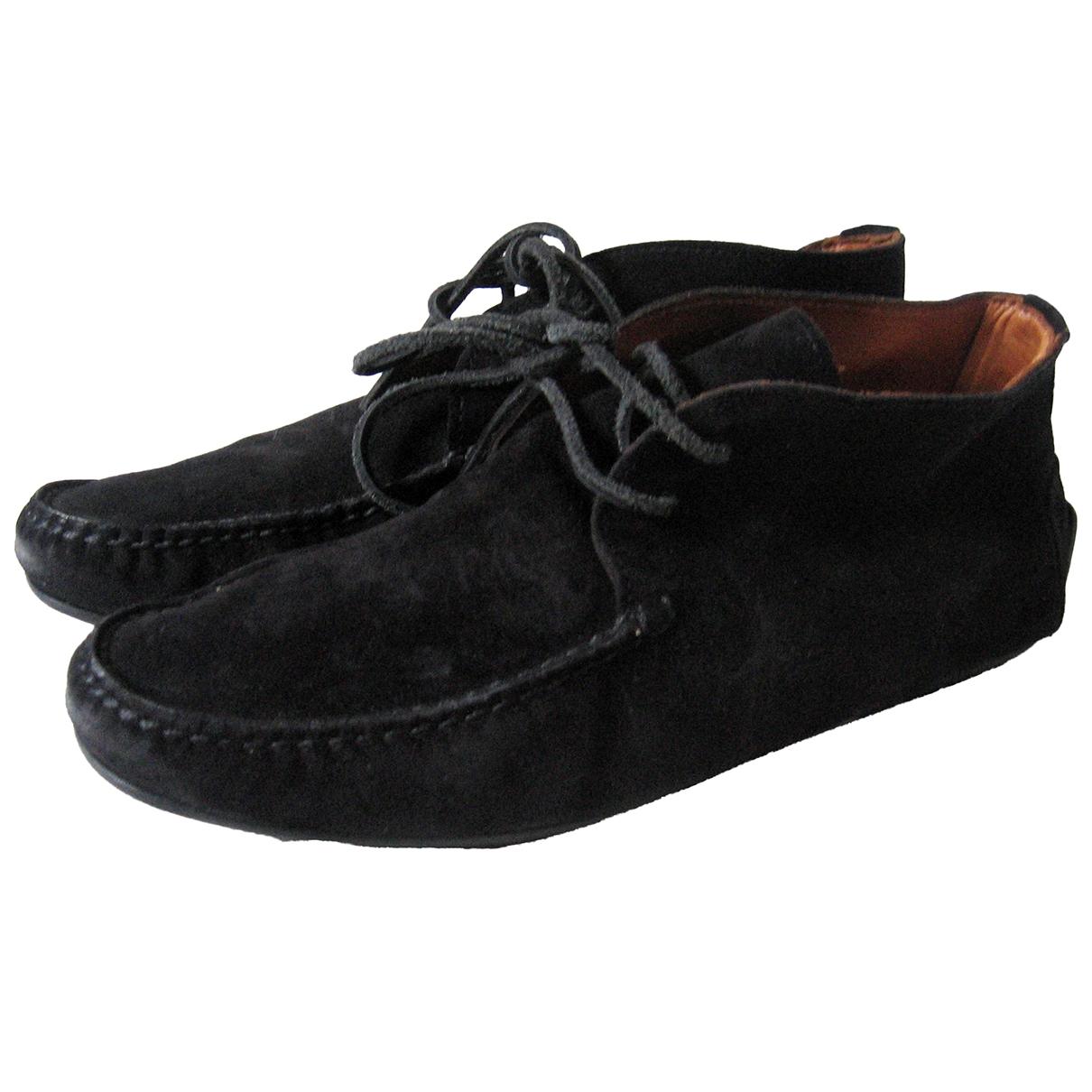 Ralph Lauren \N Black Suede Boots for Men 8.5 US