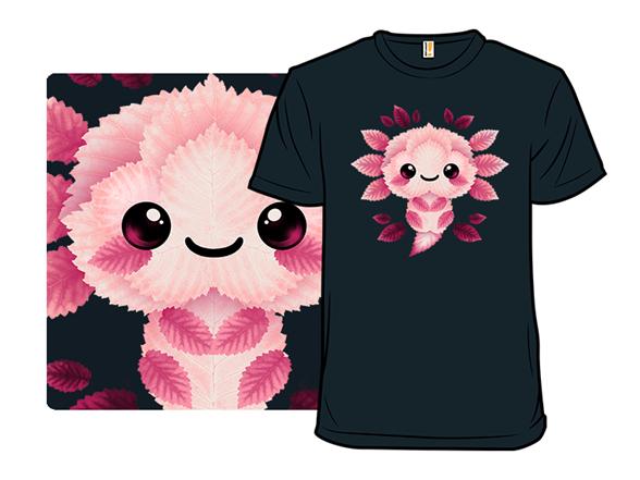 Axolotl Of Leaves T Shirt