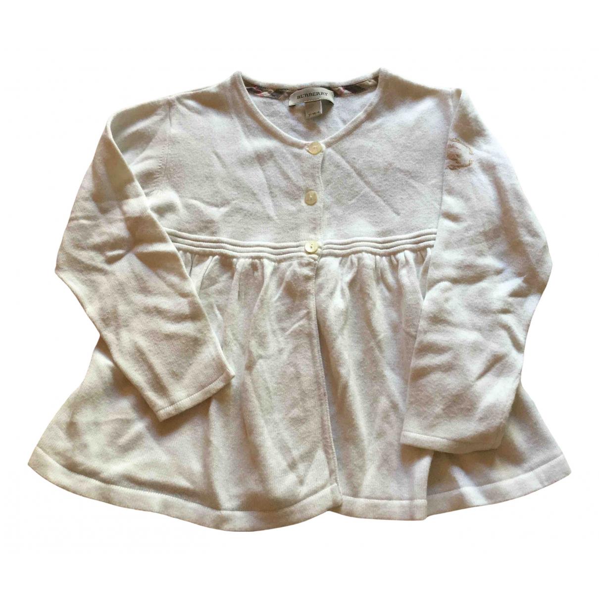 Burberry \N Kleid in  Beige Baumwolle