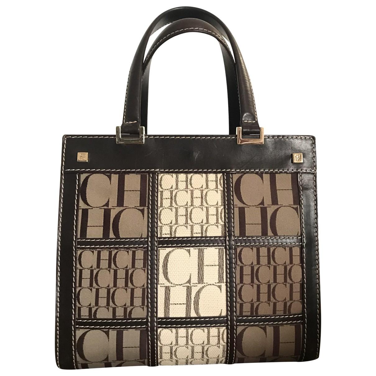 Carolina Herrera \N Black Leather handbag for Women \N