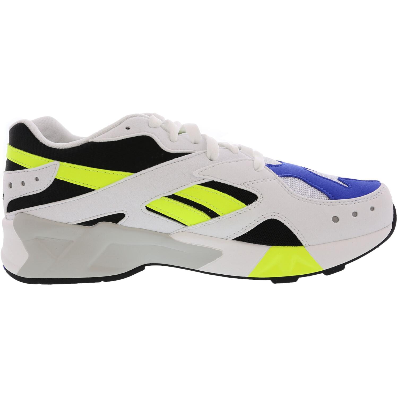 Reebok Men's Aztrek White / Black Cobalt Yellow Ankle-High Running - 11M