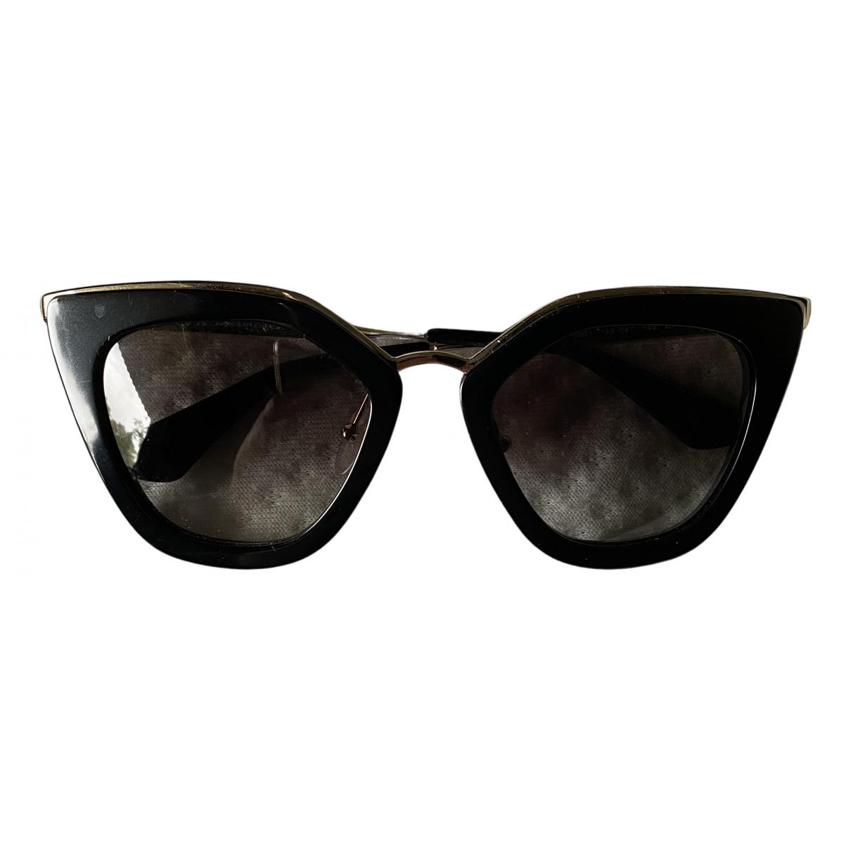 Prada \N Sonnenbrillen in  Schwarz Metall