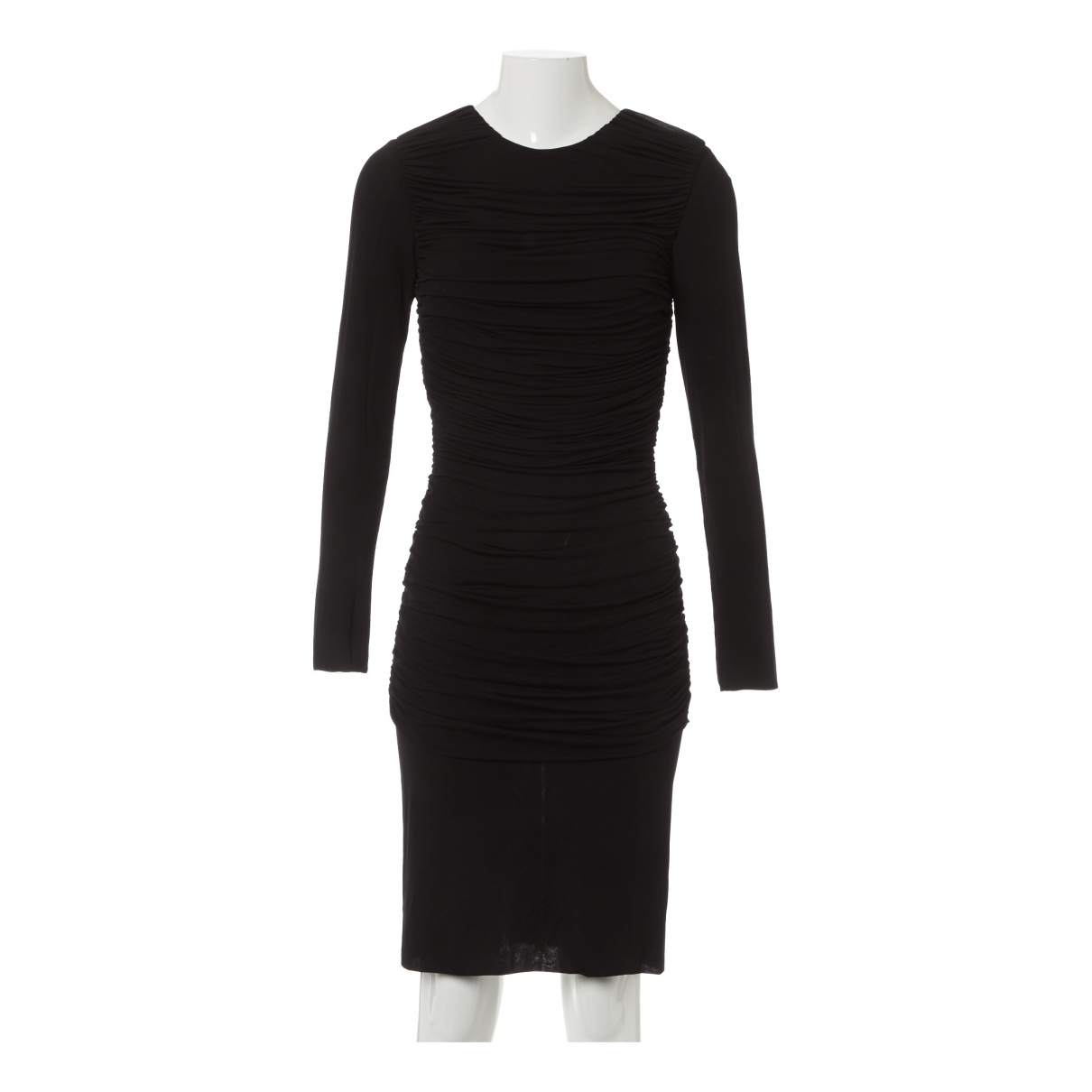 Tom Ford \N Kleid in  Schwarz Viskose