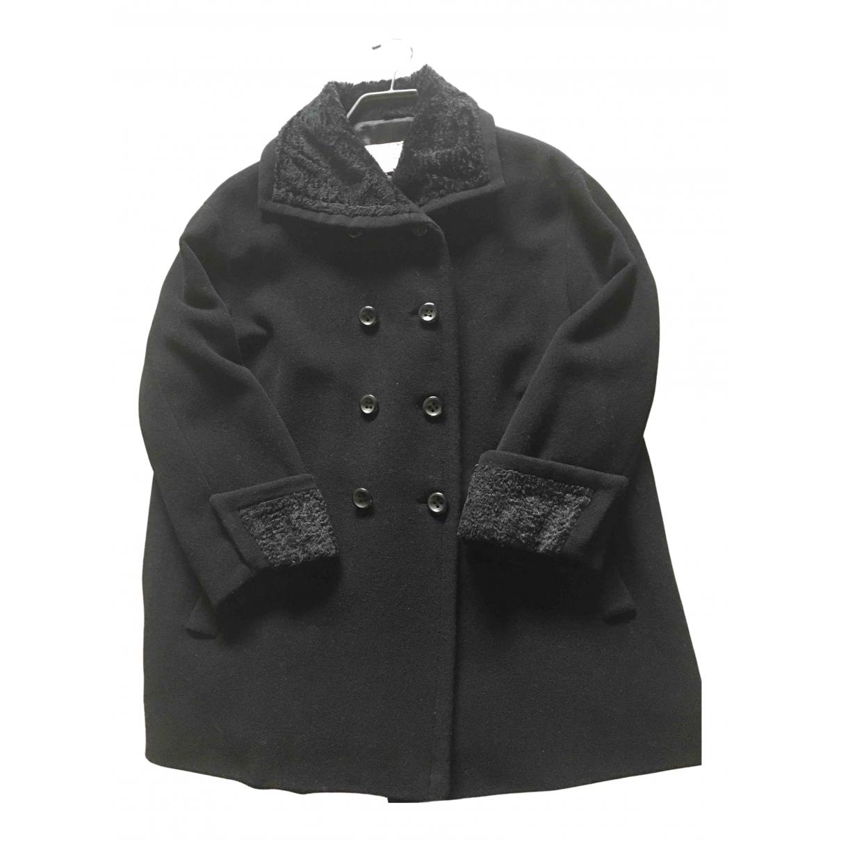 Byblos \N Black Wool coat for Women 42 IT