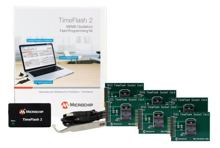 Microchip DSC-TIMEFLASH2-KIT1, Time Flash2 Oscillator Programmer for  MEMS Oscillator