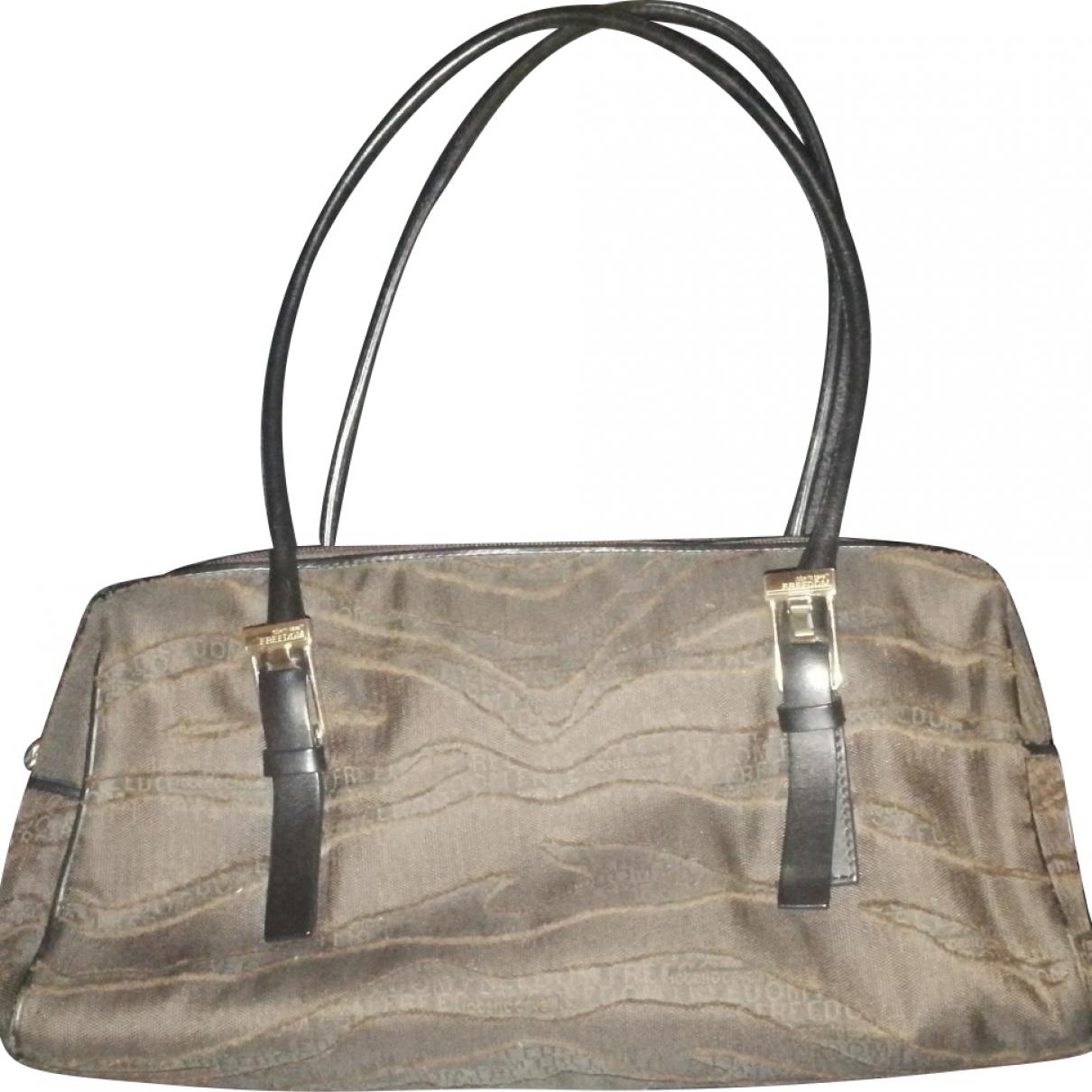 Roberto Cavalli \N Brown Cloth handbag for Women \N