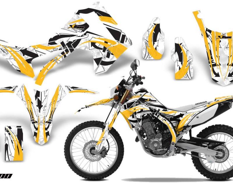 AMR Racing Dirt Bike Graphics Kit Decal Sticker Wrap For Honda CRF250L 2013-2016áEXPO YELLOW