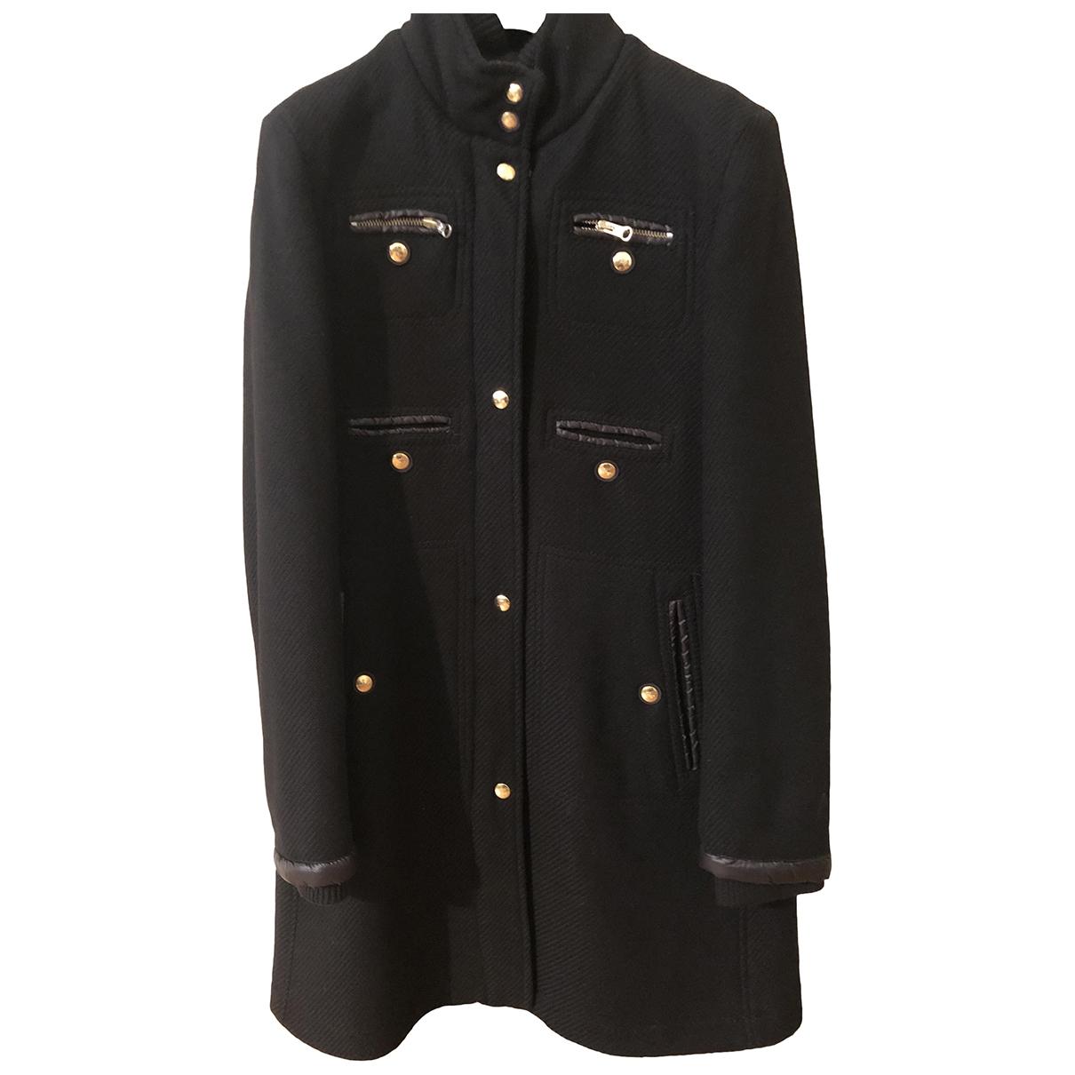 Fay - Manteau   pour femme en laine - noir