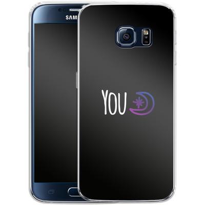 Samsung Galaxy S6 Silikon Handyhuelle - You Moon von caseable Designs