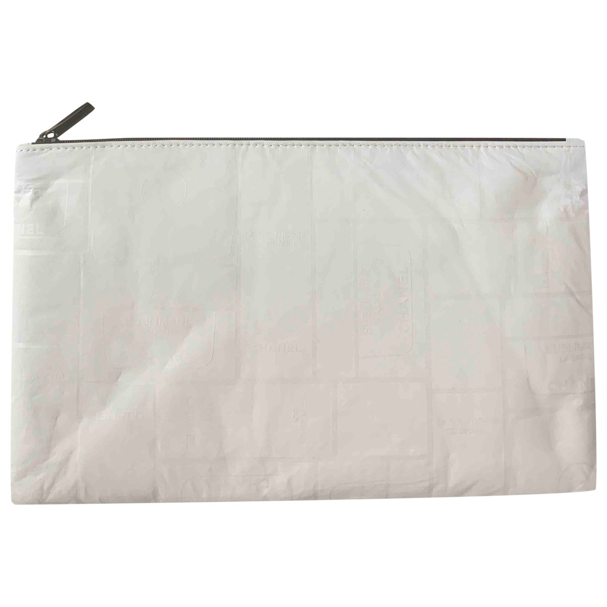 Chanel \N White Cloth Purses, wallet & cases for Women \N