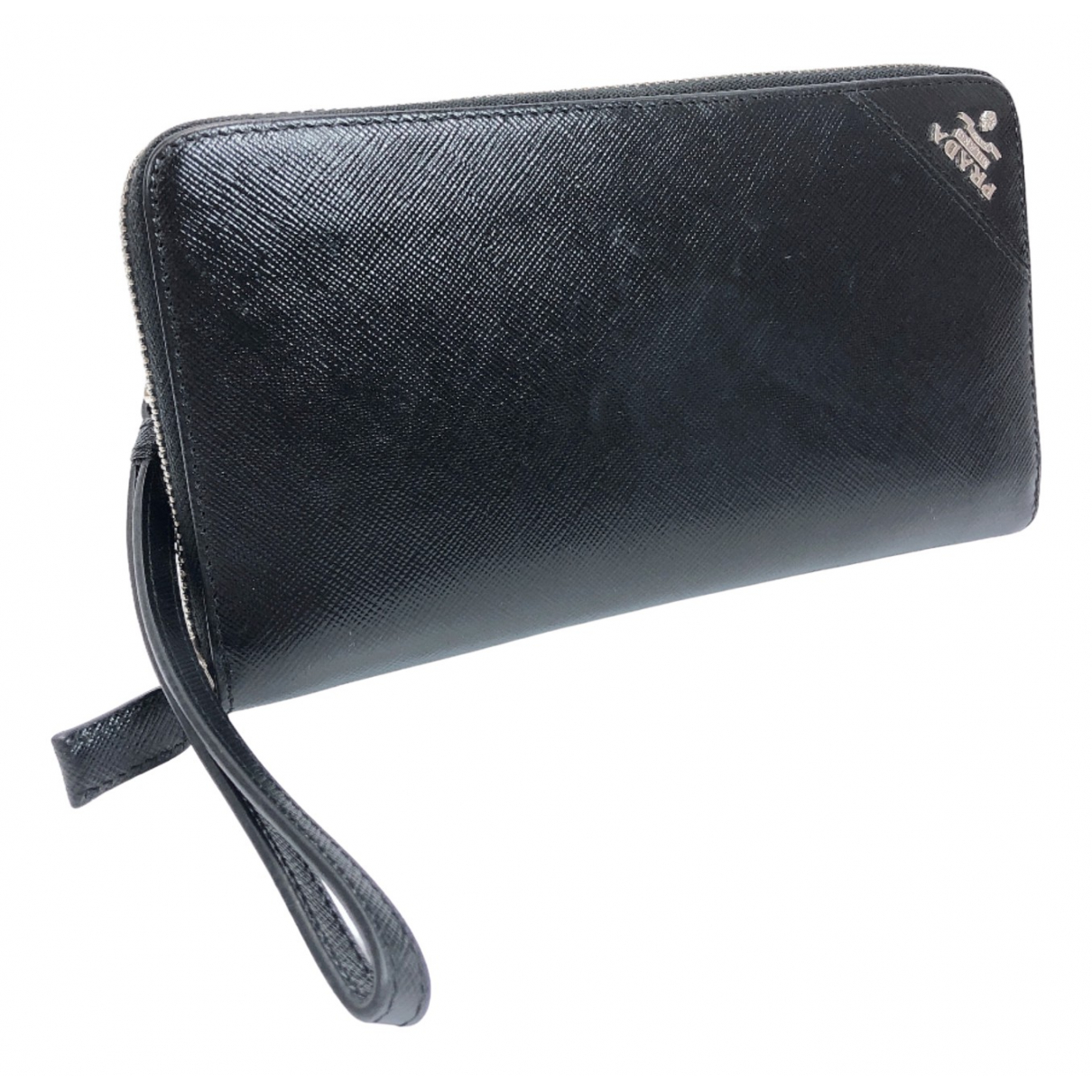 Prada N Black Leather Small bag, wallet & cases for Men N