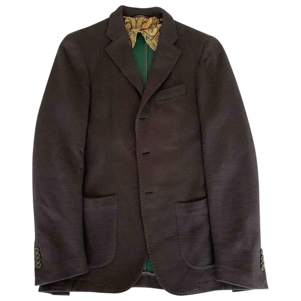 Altea \N Blue Wool jacket  for Men 46 IT