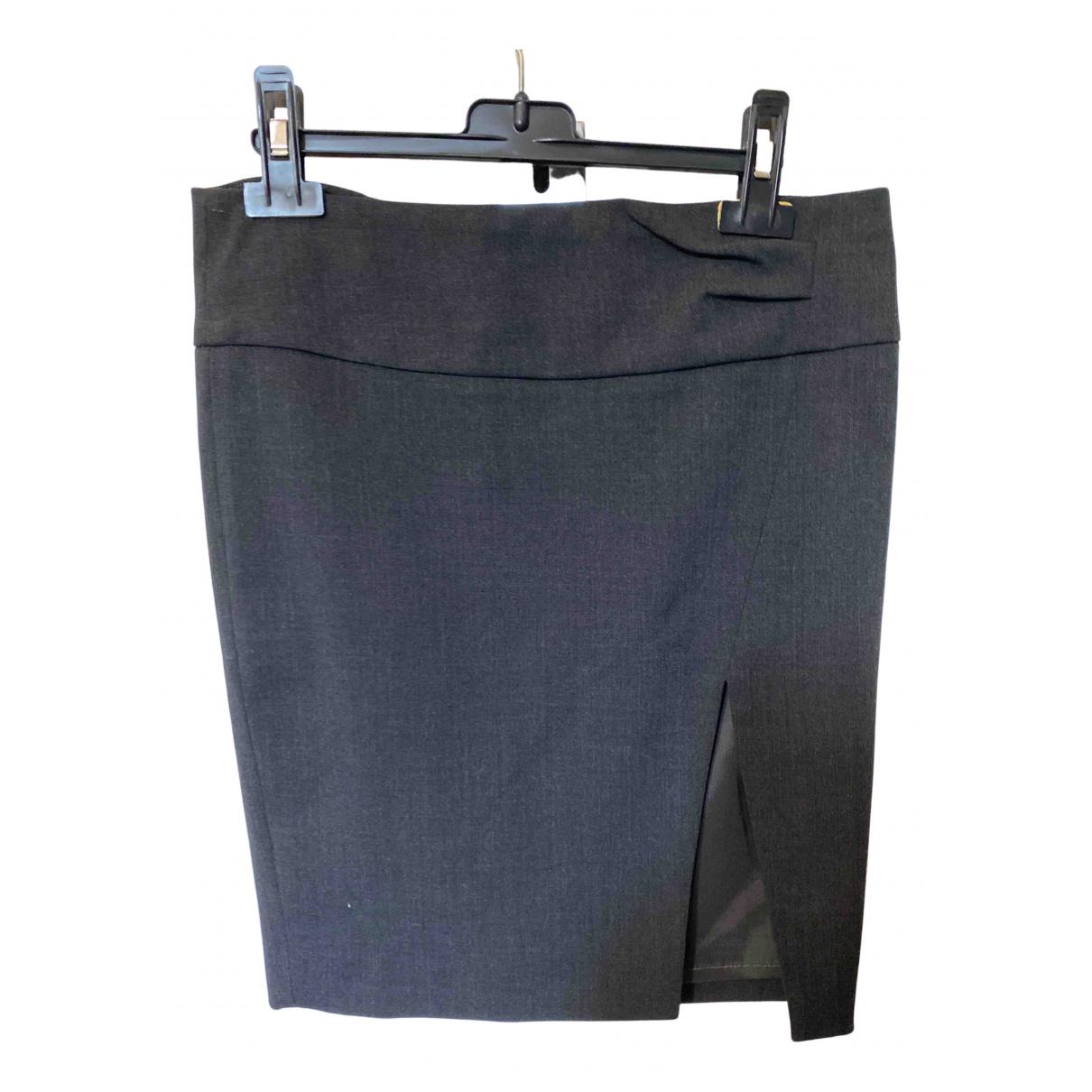 Patrizia Pepe N Anthracite Wool skirt for Women 40 IT
