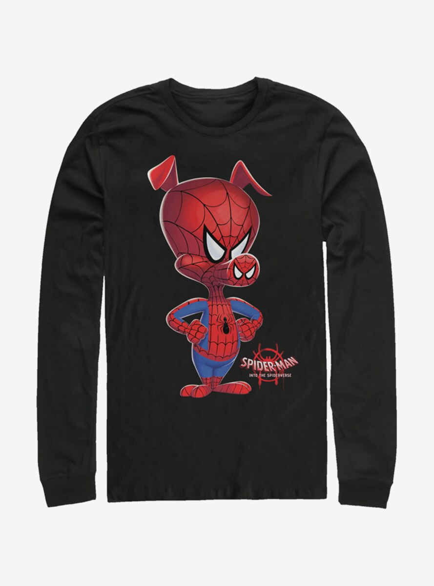 Marvel Spider-Man: Into the Spider-Verse Big Ham Long-Sleeve T-Shirt
