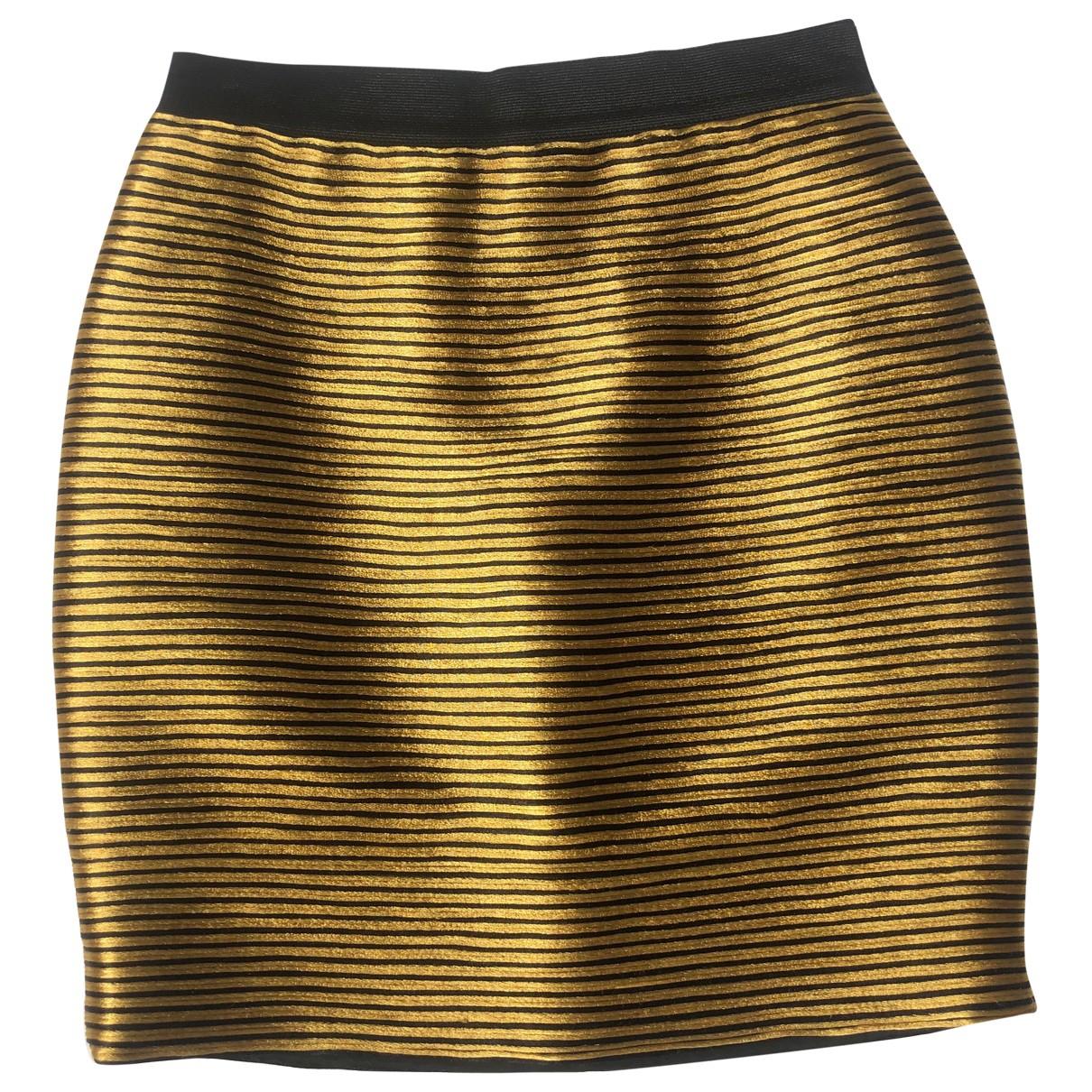 3.1 Phillip Lim \N Rocke in  Gold Baumwolle