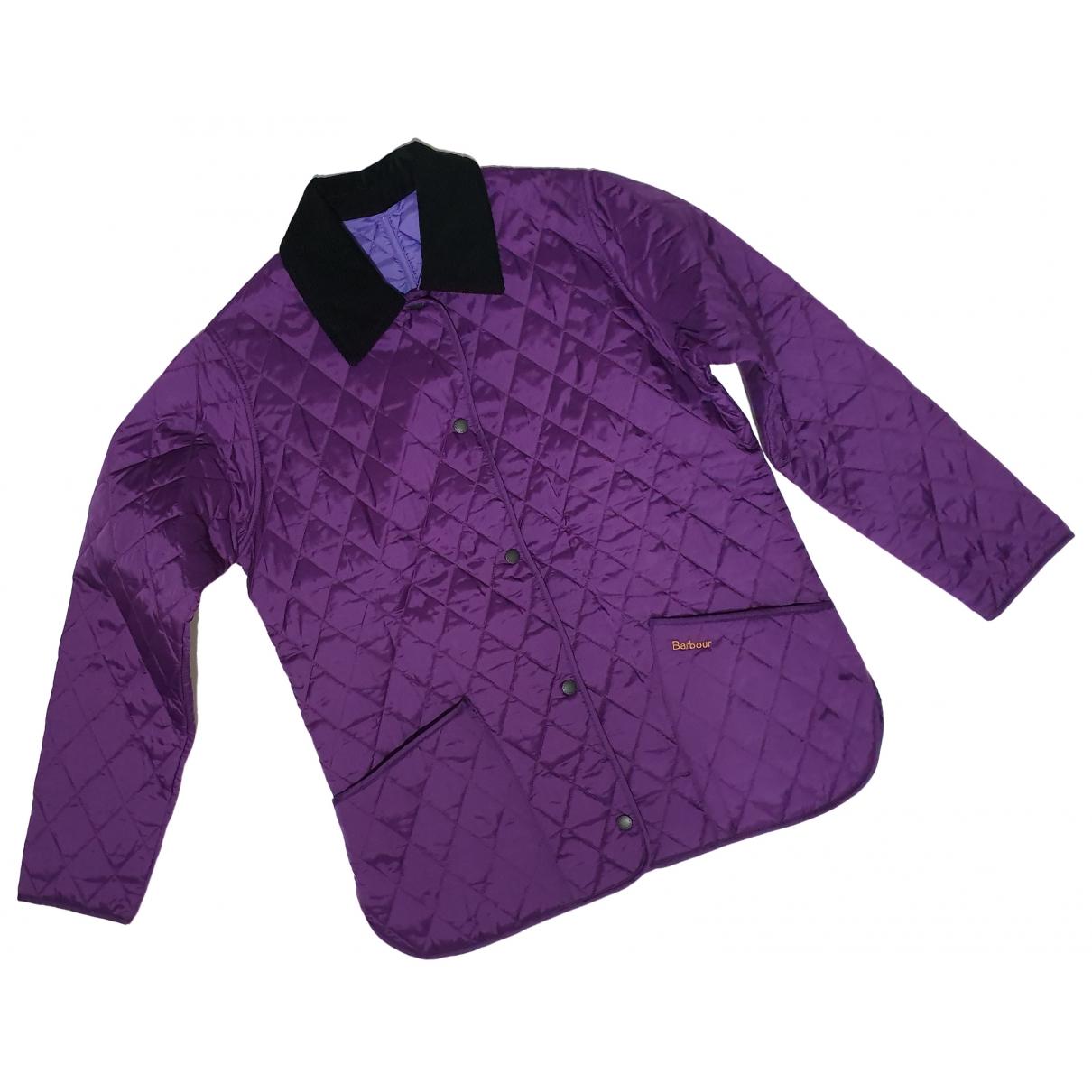 Barbour - Veste   pour femme - violet