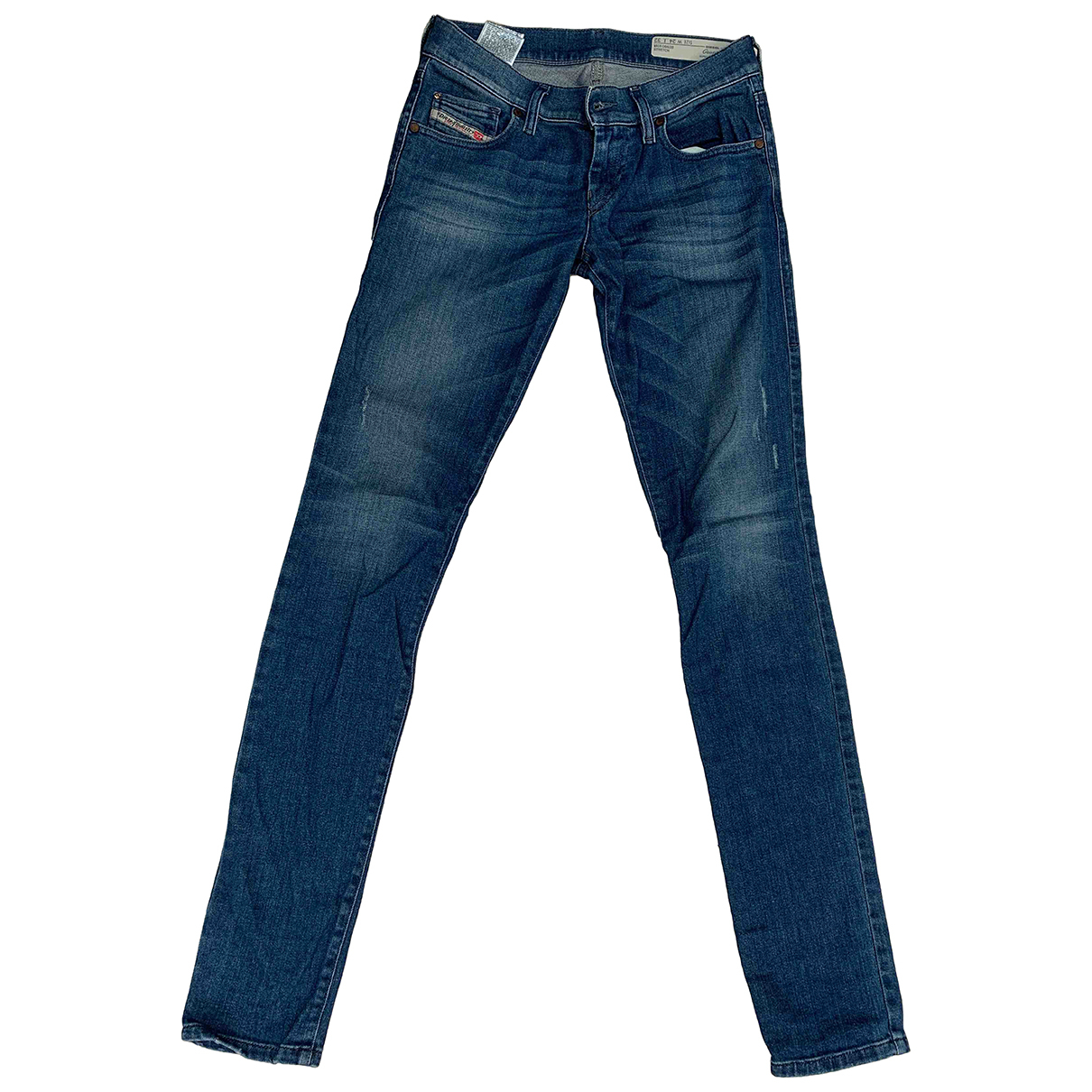 Diesel \N Blue Denim - Jeans Jeans for Women 24 US
