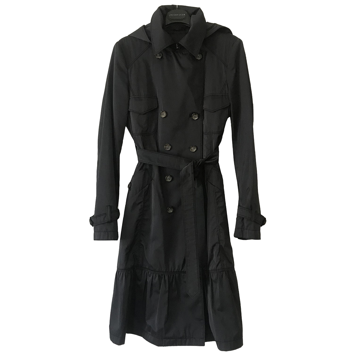Max Mara Weekend \N Trench in  Blau Polyester