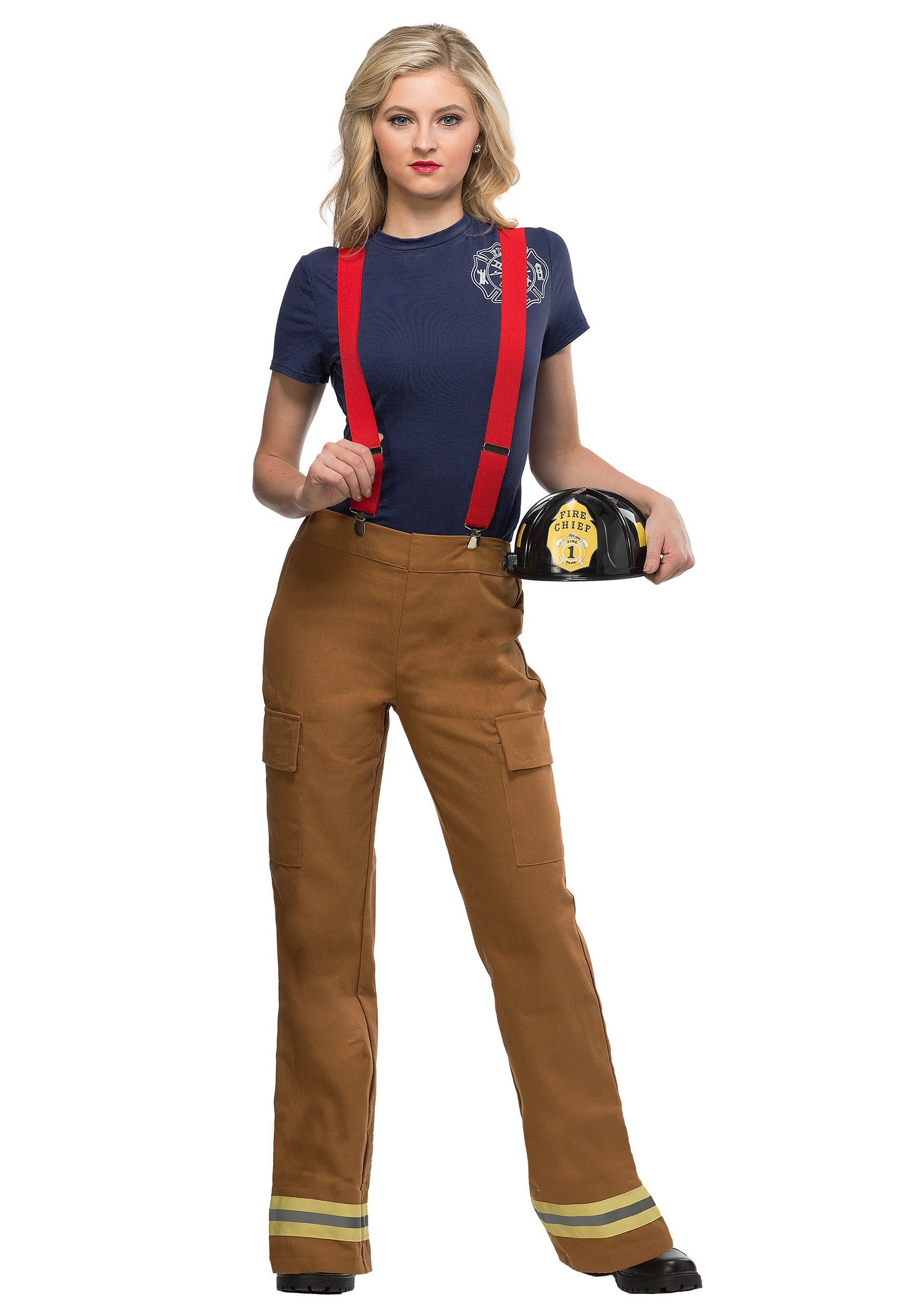 Fire Captain Costume for Women