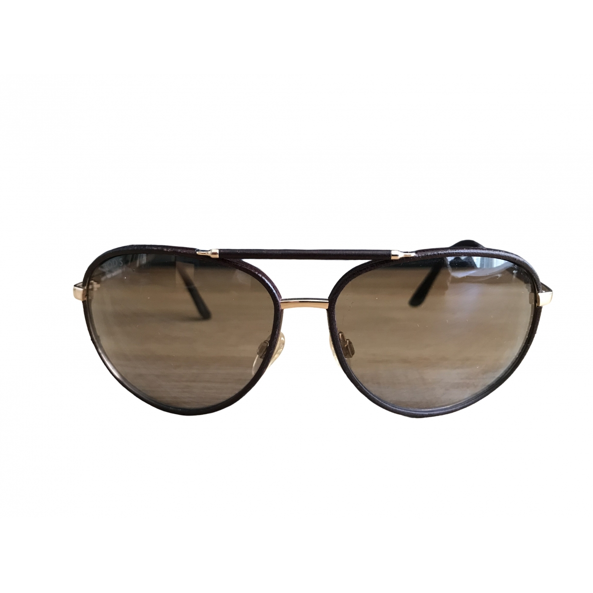 Tod's \N Brown Sunglasses for Women \N