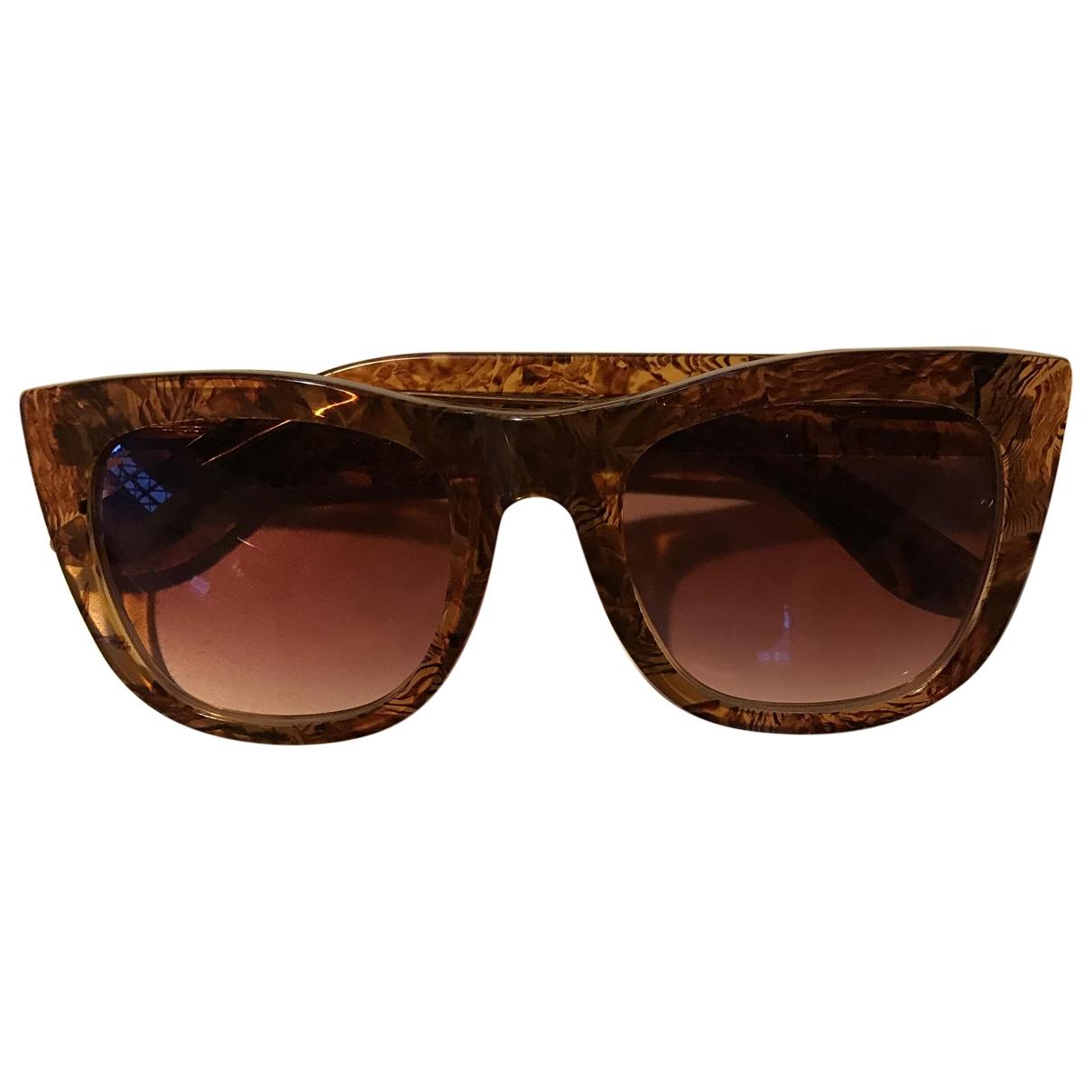 Retrosuperfuture \N Camel Sunglasses for Women \N