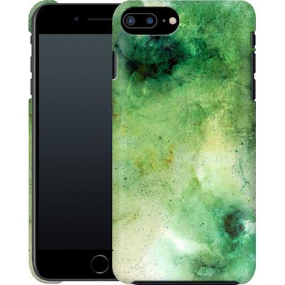 Apple iPhone 7 Plus Smartphone Huelle - Abstract Galaxy - Green von Barruf