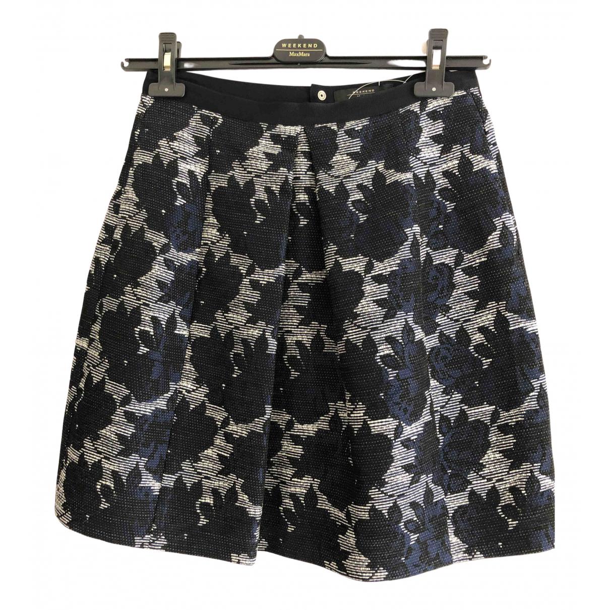 Max Mara Weekend N Navy skirt for Women 6 UK