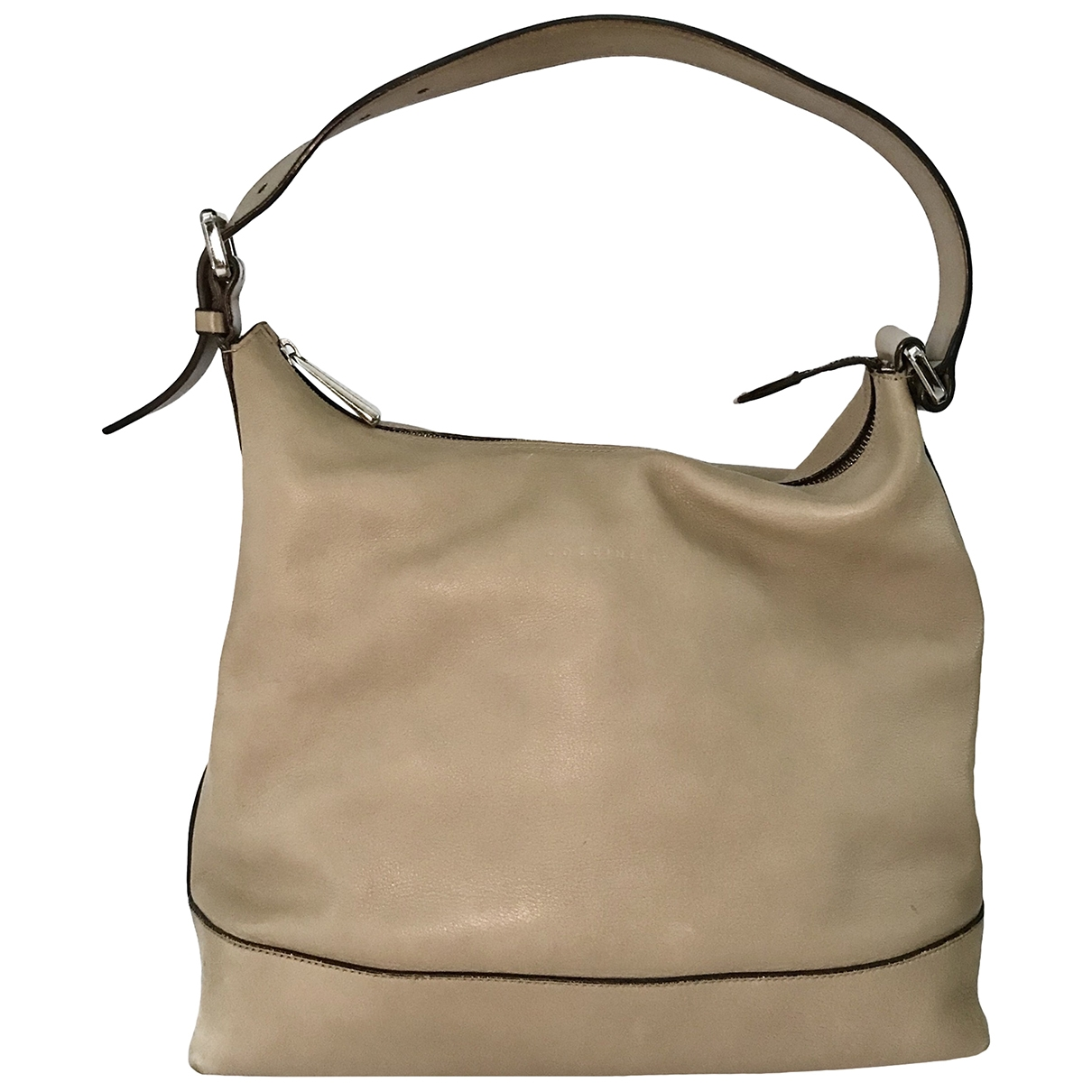 Coccinelle \N Beige Leather handbag for Women \N