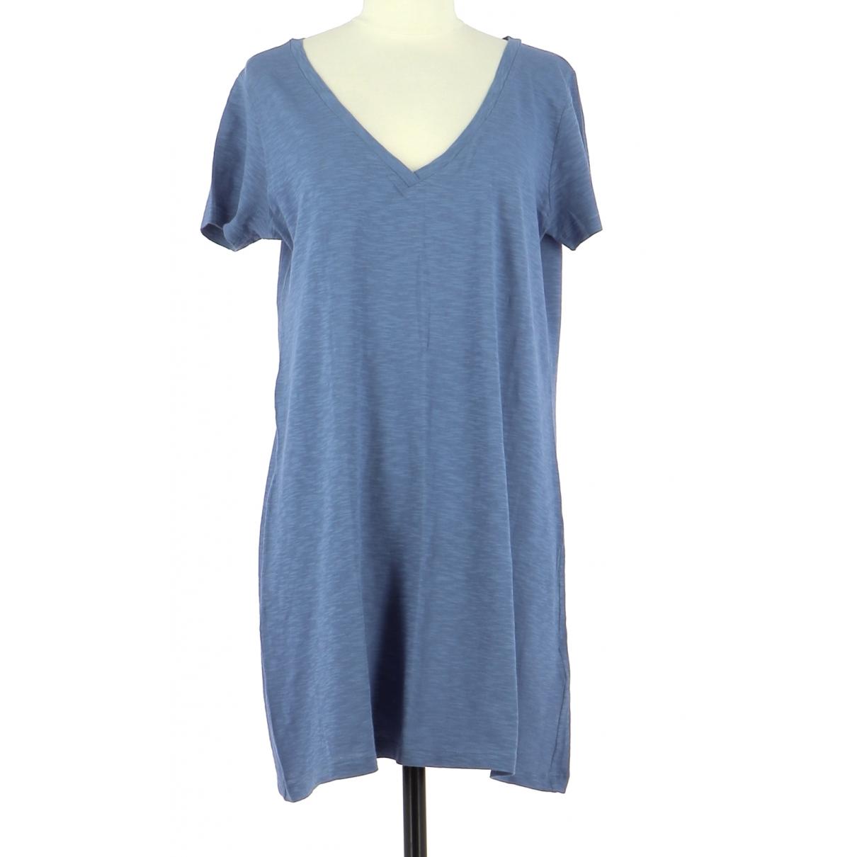 Gerard Darel \N Kleid in  Blau Baumwolle