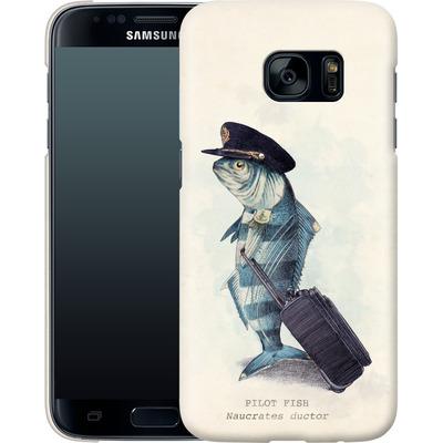 Samsung Galaxy S7 Smartphone Huelle - The Pilot von Eric Fan
